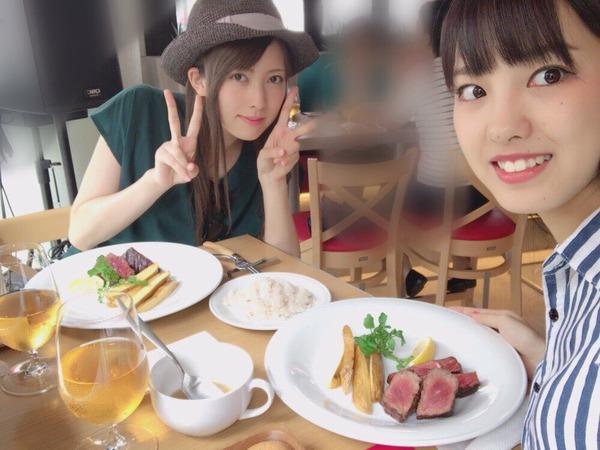LovendoЯ宮澤真凜、モーニング娘。飯窪春菜と映画鑑賞