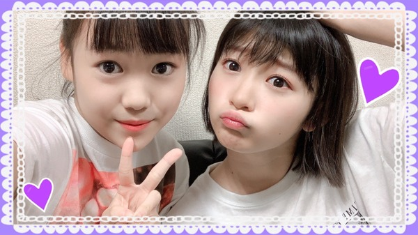 Juice=Juice宮本佳林、工藤由愛との2ショット写真に変顔の洗礼