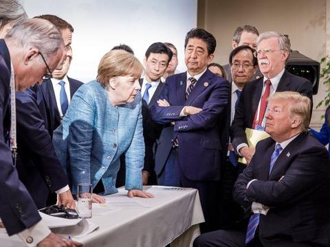 trump-merkel-g7