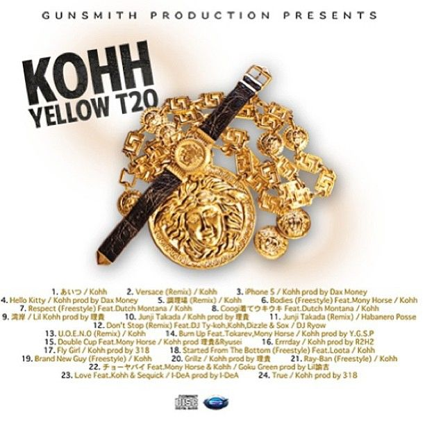 kohh yellow tape download