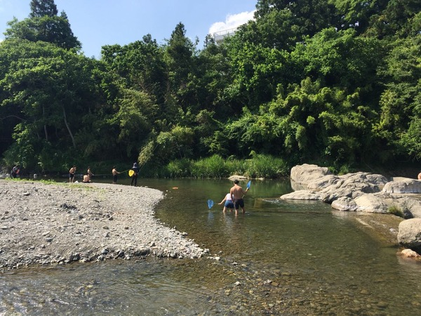 多摩川上流へ