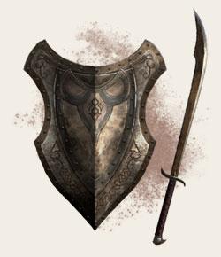 Redguard-sword