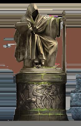 Ayleid statue