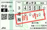 160321中京2Rダ1400 3連複的中