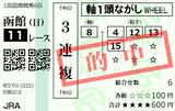 210718函館11R函館記念 3連複的中