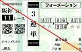 161002阪神11RポートアイランドS 3連単