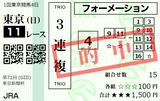 210207東京11R東京新聞杯 3連複的中