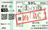 160214東京10R雲雀S 馬連的中