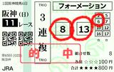 210228阪神11R阪急杯 3連複