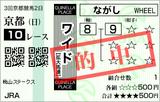 160424京都10R桃山S ワイド的中