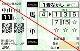 160911中山11R京成杯AH 馬単