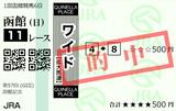 210718函館11R函館記念 ワイド的中