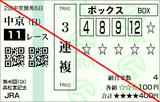 180325中京11R高松宮記念 3連複