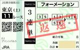 190504東京11RプリンシパルS 3連単【返還】