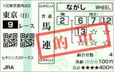 160221東京9RヒヤシンスS 馬連的中