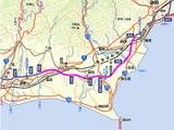 東名交通規制 袋井・焼津周辺地図