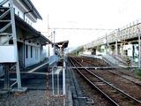 豊郷駅ホーム外観
