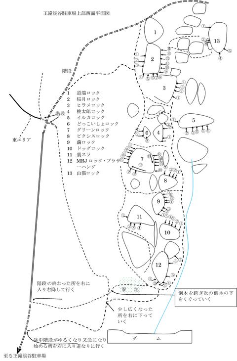 西面平面図