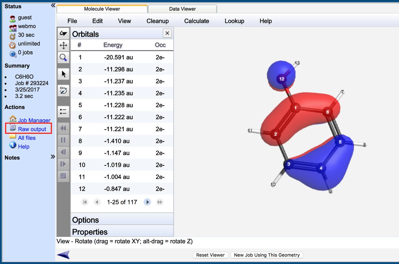 開いて5秒で計算化学!!WebMO!...