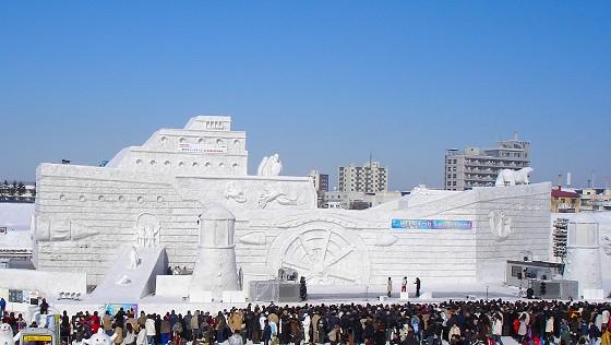 北海道 観光・写真・旅日記サイト 旭川冬まつり 2008 ~旭川市~