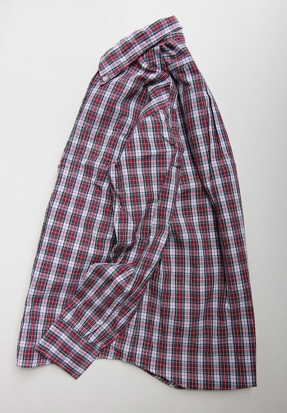 The Baggy Broadcloth Tartan BD Red Plaid RED (2)