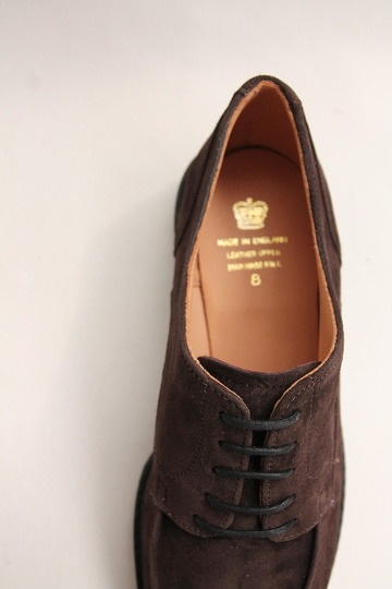 Crown Northampton Apron Shoes DK BROWN (5)