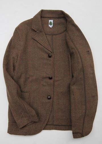 Arbre 07145 Moss Green Check Tweed (3)