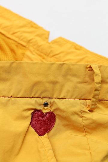 MIDA Nylon Shorts with Liner YELLOW (2)