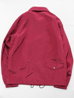 Felco Nylon Coach Jacket BURGUNDY (7)