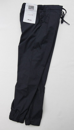 KIFFE Semi Loose Pants NAVY (2)