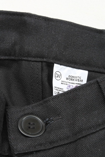 Domestic Workwear Sweetbutter Work Pants BLACK (2)