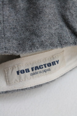 FOB Wool Baker Cap GREY (2)