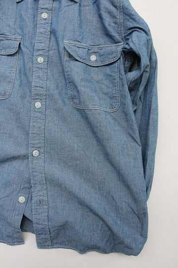 R & Vintage 5 oz Chambray LS TN Shirt (3)