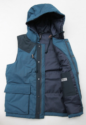MASRA Hooded Vest NAVY (5)