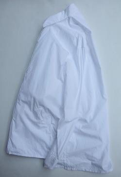 le ciel de HARRISS Broad Pocket Big Shirt WHITE (2)