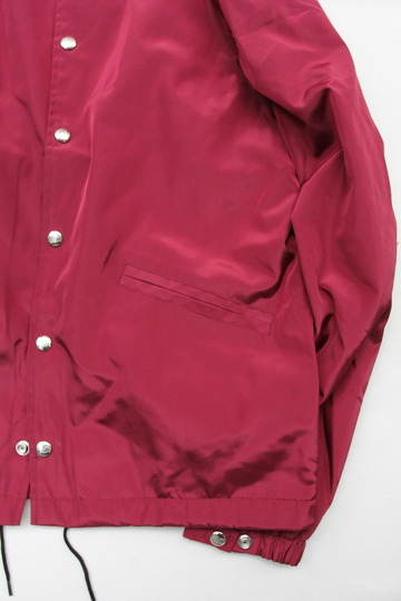 Felco Nylon Coach Jacket BURGUNDY (3)