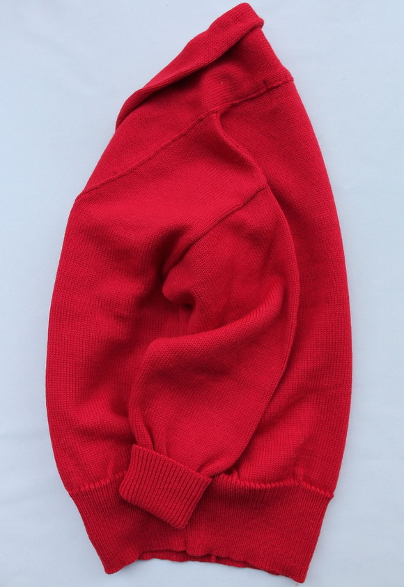 Richmond Knitwear Submariner Shawl RED (3)