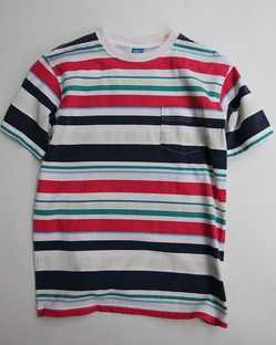 Goodon Multi Border Tee Shirt