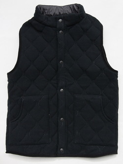 ARMEN Reversible Vest GREY X BLACK (6)