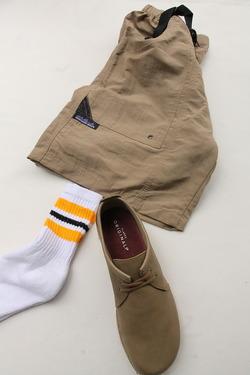 STRIP Crew Socks 9-11 GOLD X BLACK