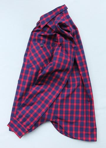NOUN Check Shirt RED Check (5)
