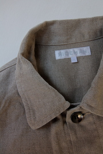 RICEMAN Work Shirt Jacket OATMEAL (6)