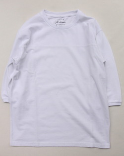 Ambiente Pique 34 Sleeve Tee WHITE