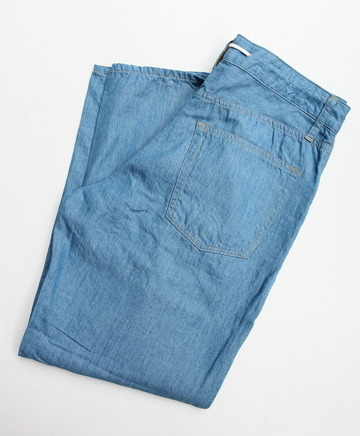Le ciel de Harriss CT Semi Wide 5 Pocket L BLUE