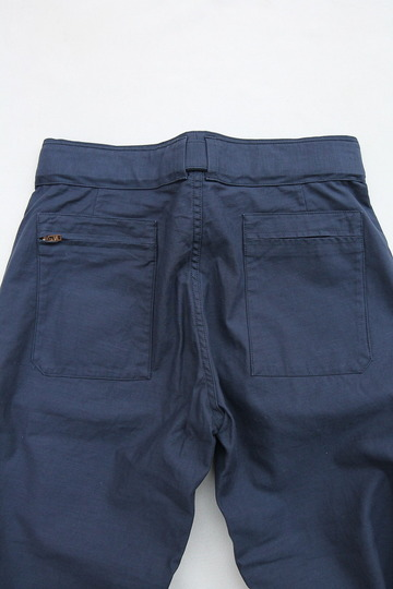 ARAN Belt Pants NAVY (5)