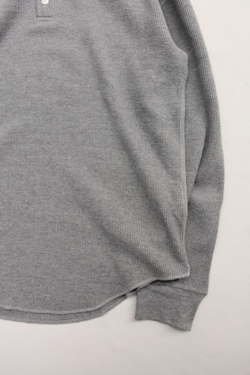 moc T Henry Neck Pullover Loose Fit Waffle (3)