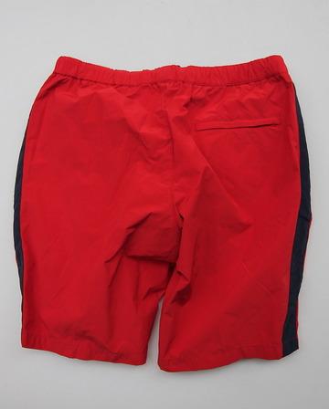 MIDA Nylon Shorts with Linner RED X NAVY (3)