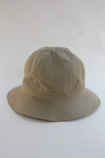 Au Vrai Chic BRITAIN Dome Hat Sanded Twill BEIGE (2)