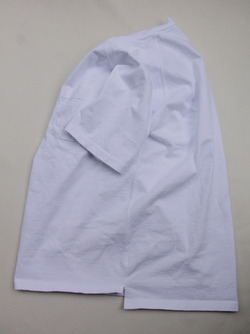 Goodon Heavy Raglan Pocket Tee Shirt WHITE (4)
