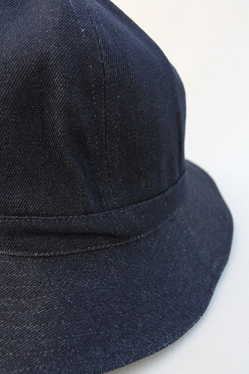 Au Vrai Chic BRITAIN Dome Hat DENIM (2)